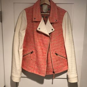 Anthropologie Jackets & Coats - Anthropologie Tweed Moro Jacket, Pink